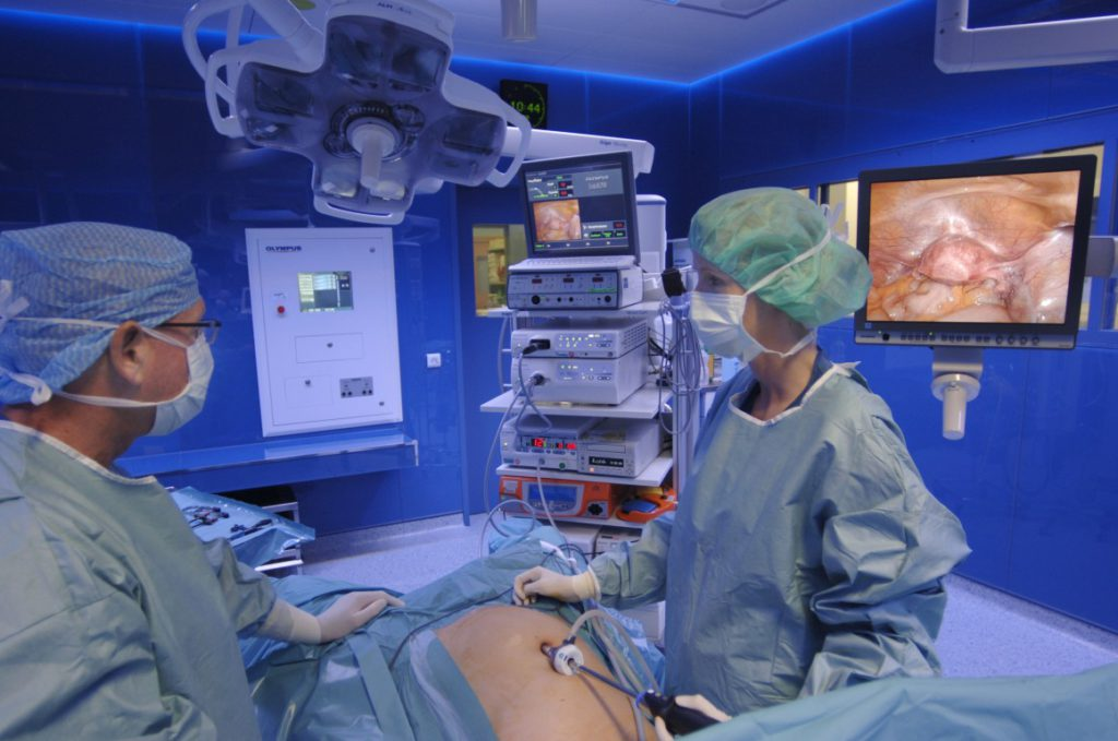 laparoszkópos műtét utáni felépülés